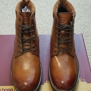 Base London Leather Boots